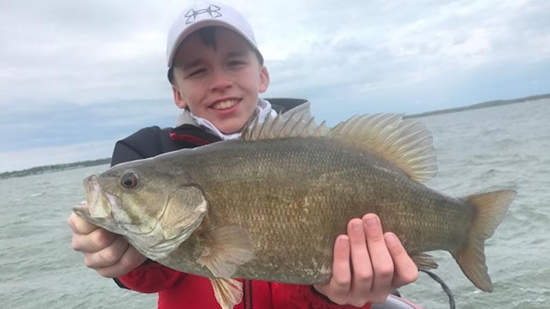 Trophy Smallmouth Bass Fishing