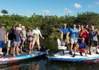 Multi Boat Fishing Charter