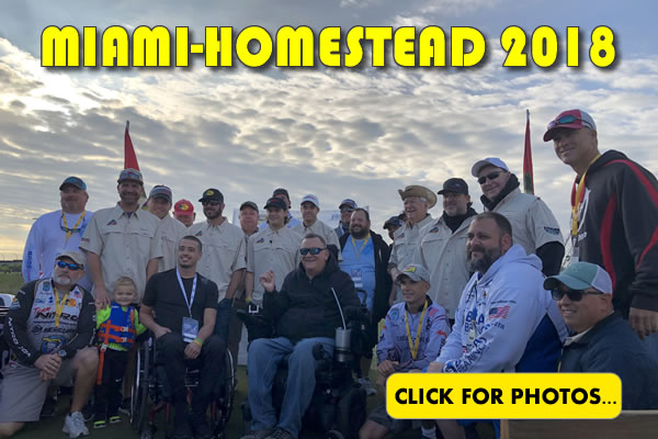 2018 NASCAR Miami-Homestead Charity Fishing