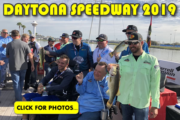 2019 NASCAR Daytona 500 Fishing Pictures