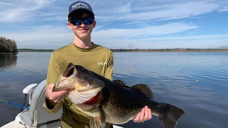 February Trophy Bass Fishing Charters 2