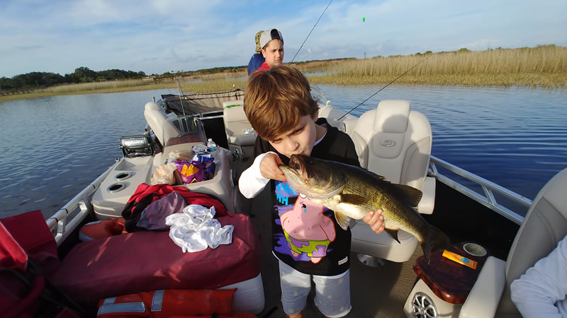 Kissimmee Bass Fishing Report 7