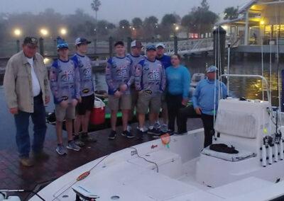 Lake Toho Group Bass Fishing 7
