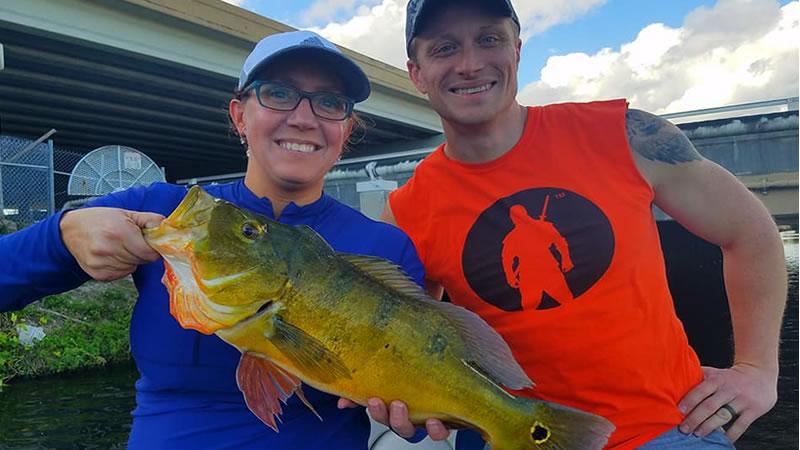 Ninja Warrior Peacock Bass Fishing 4