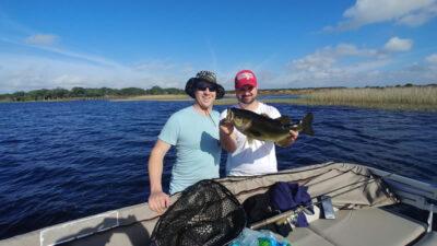Pontoon Boat Fishing Trips 2