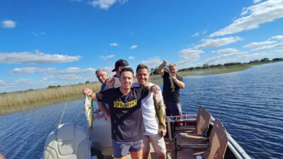 Pontoon Boat Fishing Trips 4