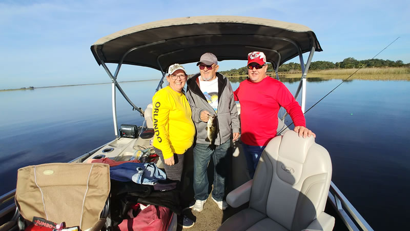 Pontoon Boat Fishing Trips 5