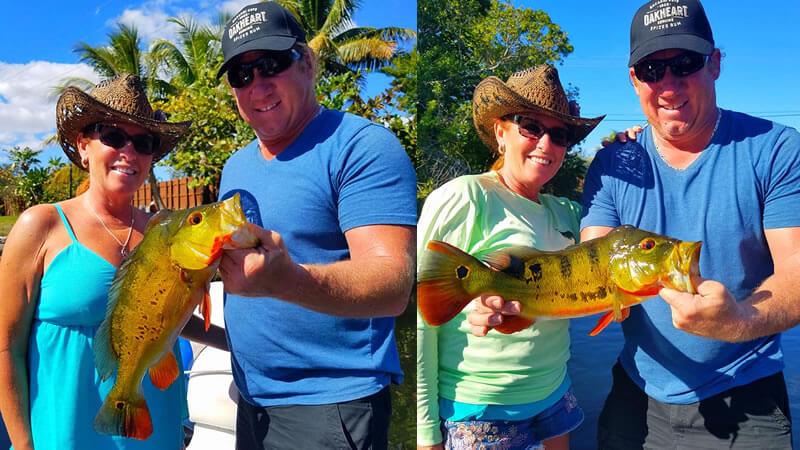 Three Different Species Fishing 2
