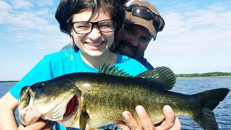 Kissimmee Bass Fishing Experience