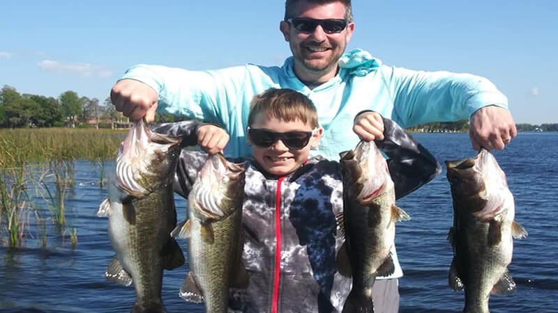 Lake Tarpon Fishing Charters in Tarpon Springs for Largemouth Bass