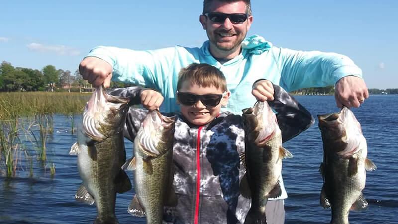 Lake Tarpon Fishing Charters