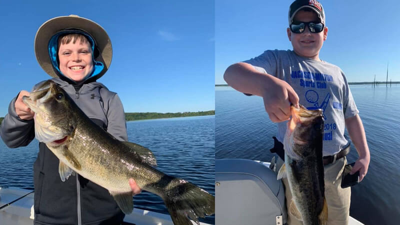 Double Largemouth Bass Fishing 2