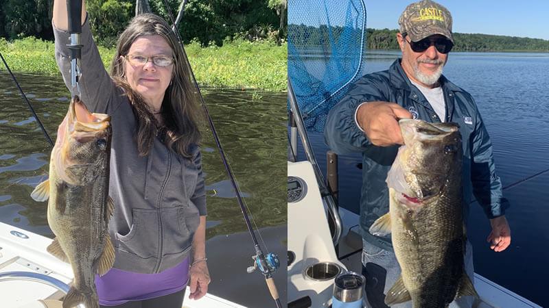 Double Largemouth Bass Fishing 3