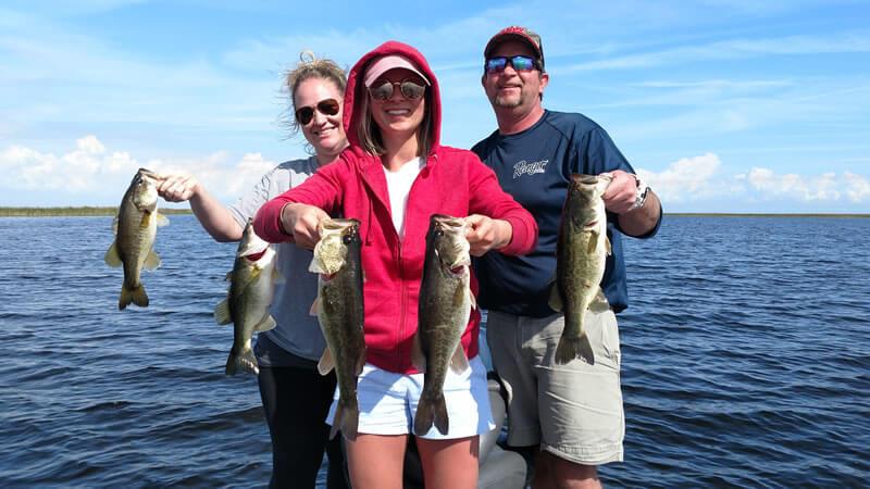 May Family Okeechobee Fishing for Florida Largemouth Bass