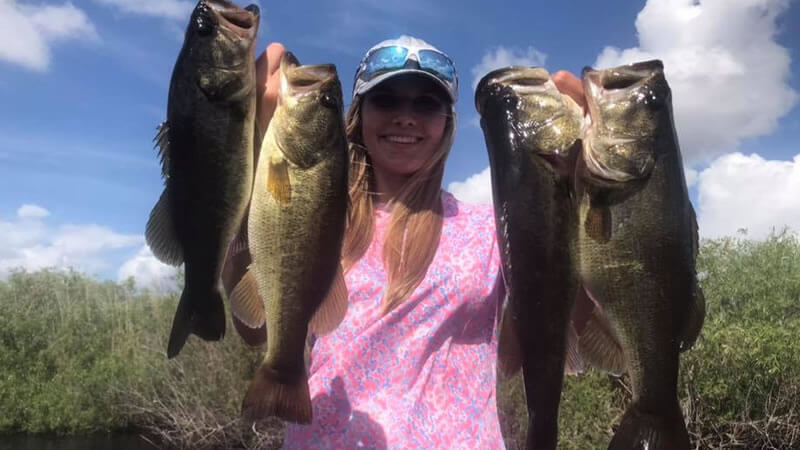 May Sawgrass Bass Fishing