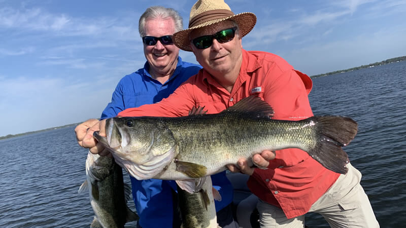 Weekend Largemouth Fishing Charters in Central Florida