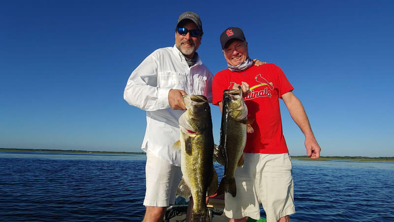 Lack Jackson Shiner Fishing in Central Florida with Local Experts