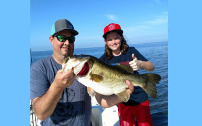 Morning June Bass Fishing on Lake Okeechobee in Belle Glade, Florida