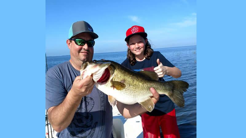 Morning June Bass Fishing on Lake Okeechobee in Belle Glade, Florida