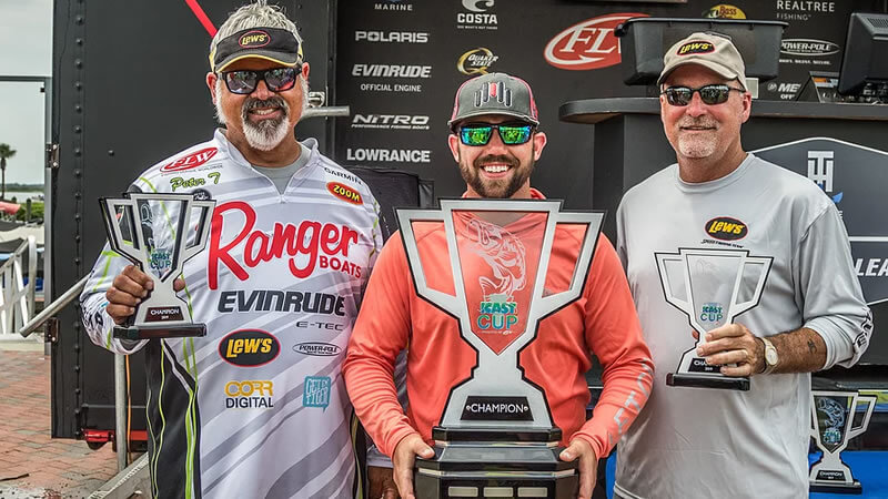 Bass Online Captain Peter Thliveros wins 2019 FLW iCast Cup