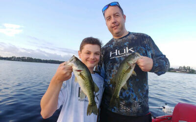 Annual Vacation Fishing Charter in Central Florida for Largemouth Bass