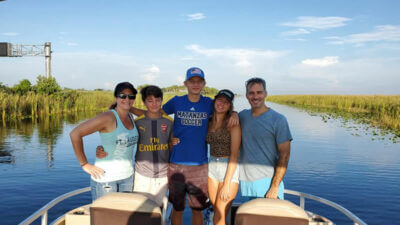 Everglades Pontoon Fishing Charter 1