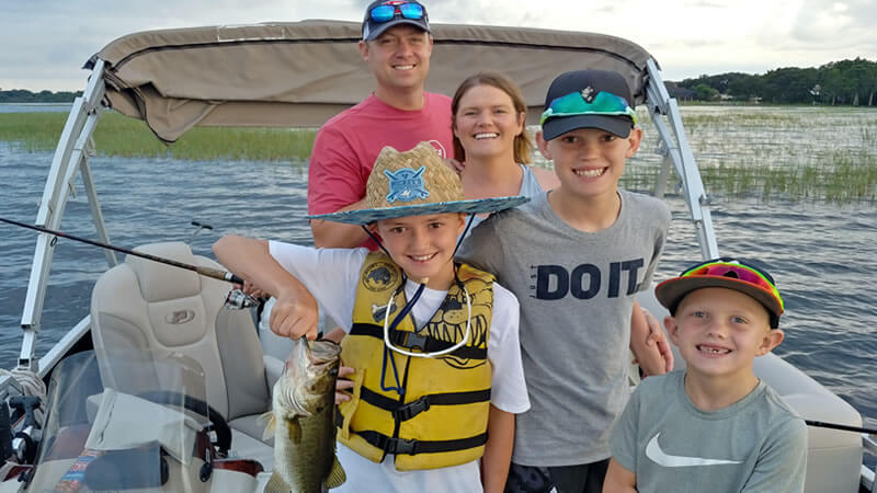 Family Florida Pontoon Charters