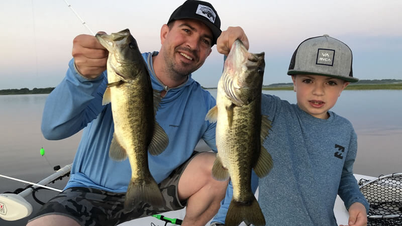 Family Lake Toho Fishing