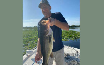 Summer North Florida Fishing for Florida Largemouth Bass