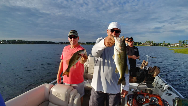 Orlando Conference Bass Fishing Charter for Largemouth Bass