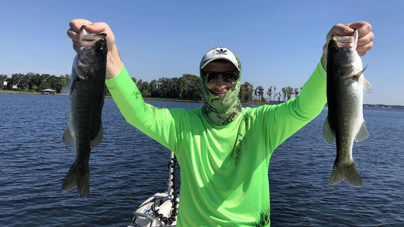 Orlando Freshwater Fishing Trip For Central Florida Largemouth Bass