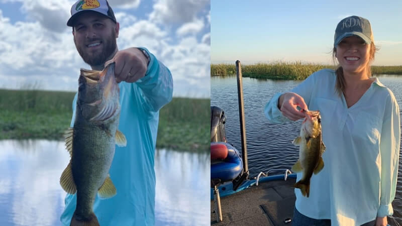 Super Hot Okeechobee Fishing for Florida Largemouth Bass