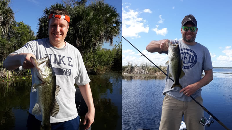 Harris Chain Fishing Charter in Central Florida for Largemouth Bass