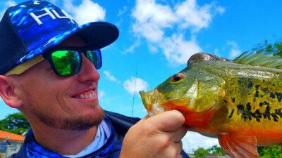 Miami Urban Peacock Bass Fishing 1