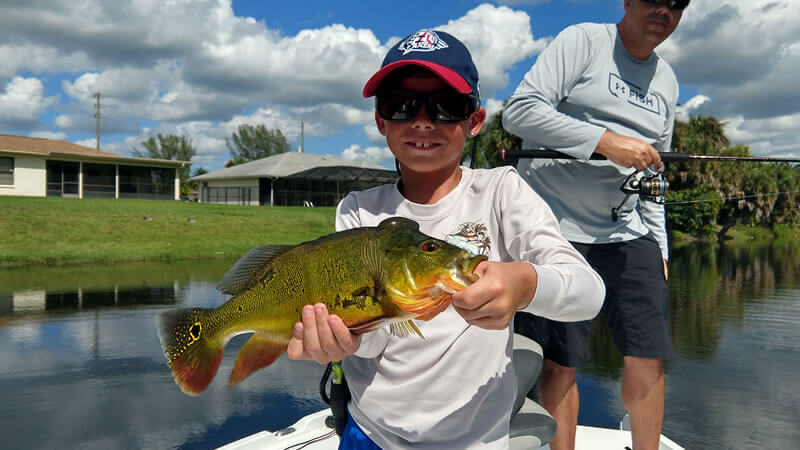 Naples Freshwater Fishing Trips for Peacock and Largemouth Bass
