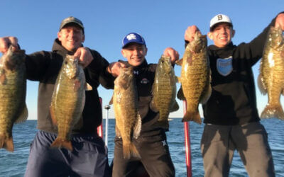 October Lake Erie Fishing Charters for Giant Smallmouth Bass
