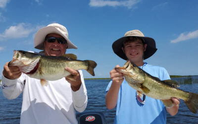 Wow Factor Artificial Fishing on Lake Okeechobee in Florida
