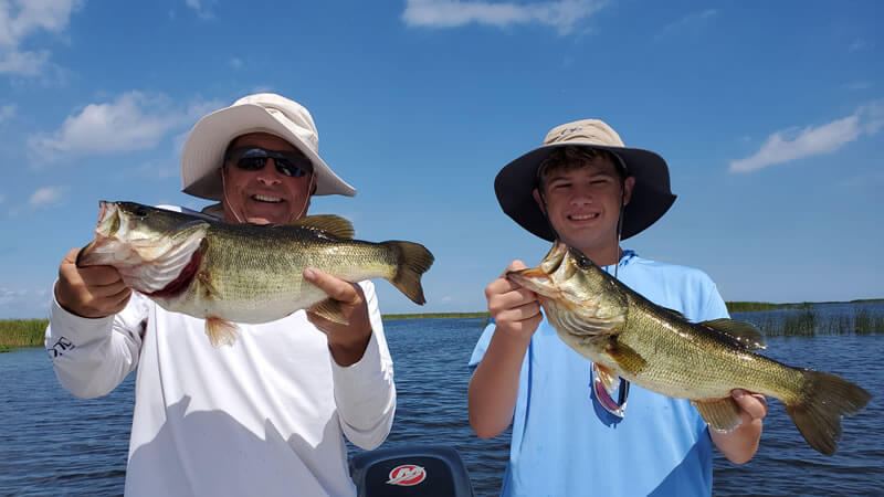 Wow Factor Artificial Fishing on Lake Okeechobee in Florida