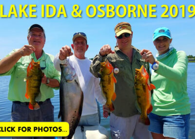 2019 Lake Ida Peacock Bass Pictures