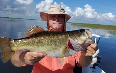 Light Tackle Okeechobee Fishing for Florida Largemouth Bass