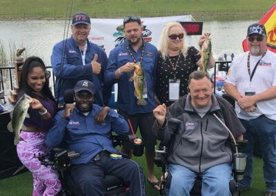 NASCAR Charity Fishing Event 4