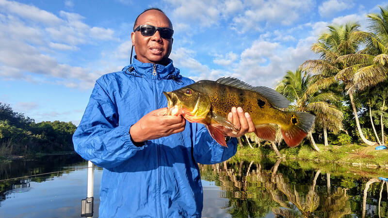 Naples Bass Fishing November Report with Captain Mark Rogers