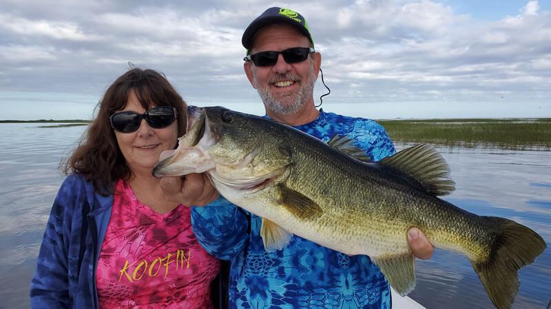 fishing lake okeechobee- okeechobee bass fishing guides