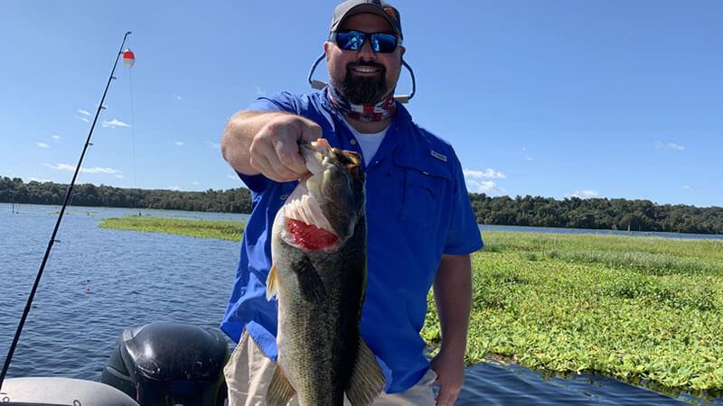 November North Florida Fishing for Florida Largemouth Bass