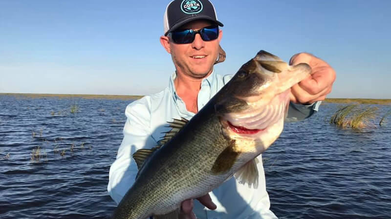 December Lake Okeechobee Fishing