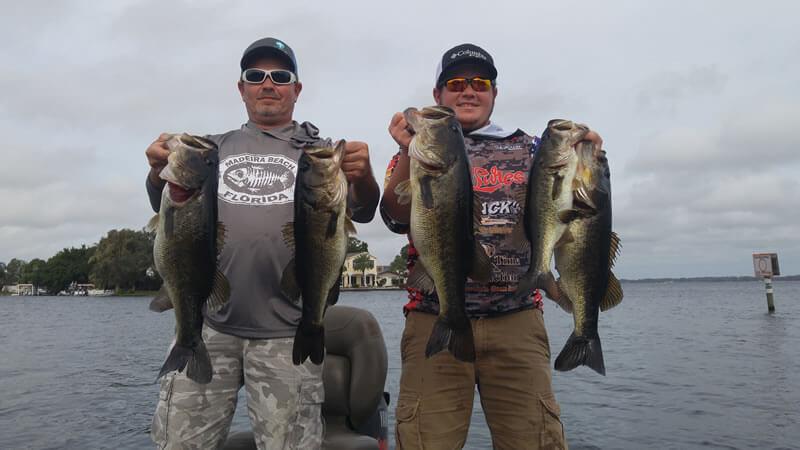 December Lake Tarpon Fishing