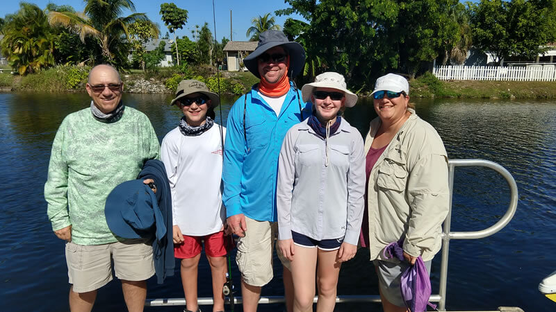 Naples Family Bass Fishing Trip for Florida Peacock Bass