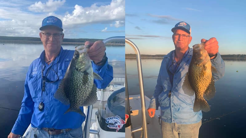 North Florida Crappie Fishing Charters