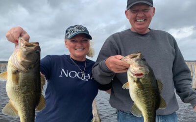 Awesome Rodman Reservoir Fishing for Florida Largemouth Bass