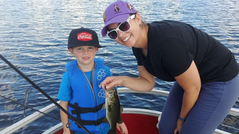 striped bass family fishing adventure